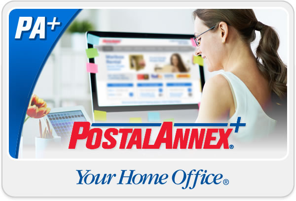 Postal Annex+ YOUR HOME OFFICE®