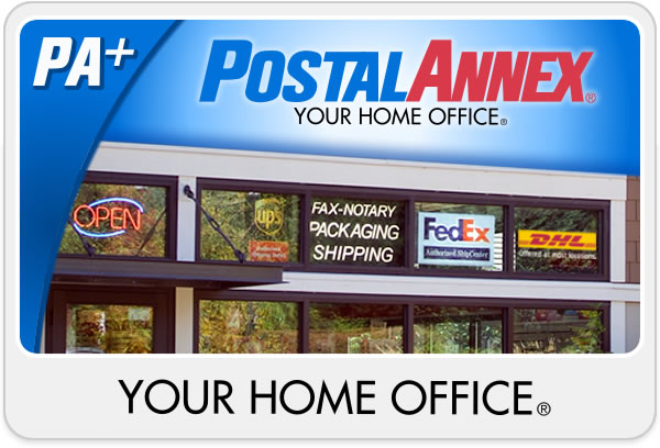 PostalAnnex YOUR HOME OFFICE®