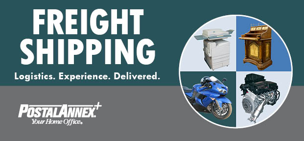 PostalAnnex+ Offers Freight Shipping