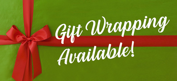 Gift Wrapping Services Available