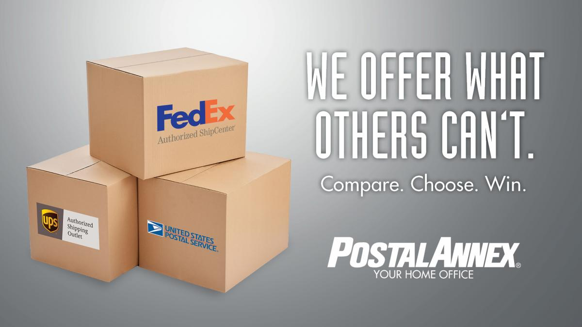Compare Shipping Rates ad