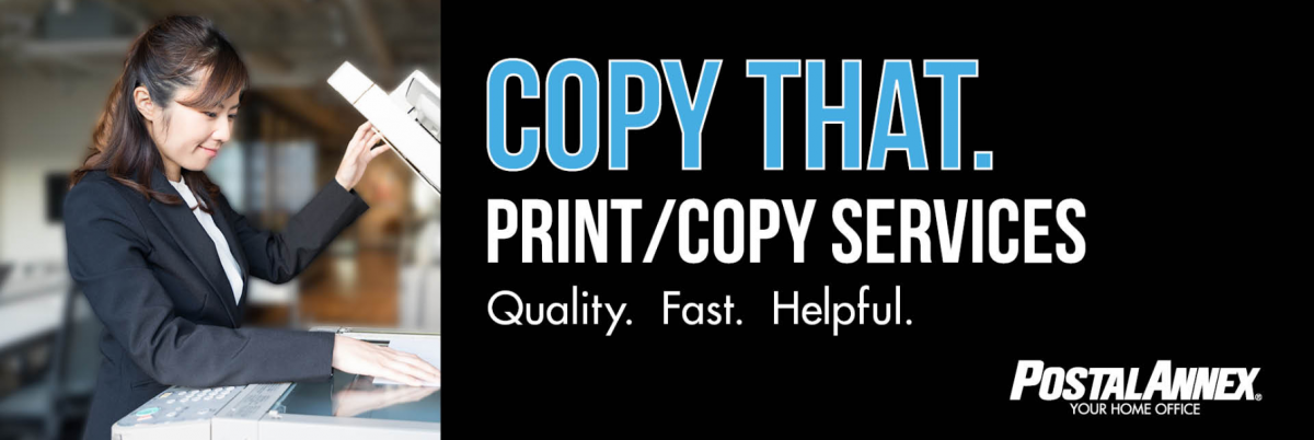 Copy and Print Service at PostalAnnex