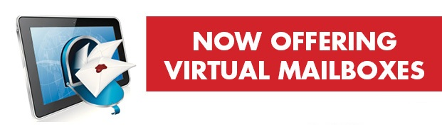 Now Offering Virtual Mailboxes
