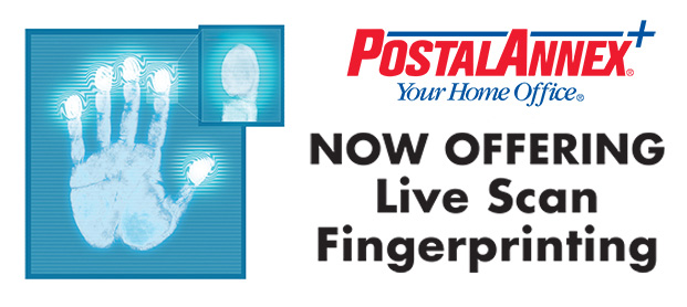 PostalAnnex+ Of Oceanside Now Offering Live Scan Services