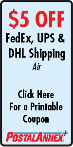 PostalAnnex+ Of Escondido $5 Off UPS, FedEx & DHL Shipping