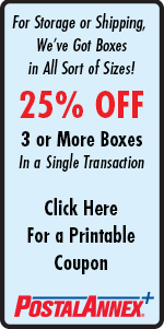 PostalAnnex+ Of Richmond Heights - 25% Off 3 or More Boxes