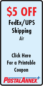 PostalAnnex of Eagle $5 Off FedEx and UPS Air