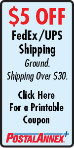 PostalAnnex+ Berkeley $5 Off Shipping Coupon
