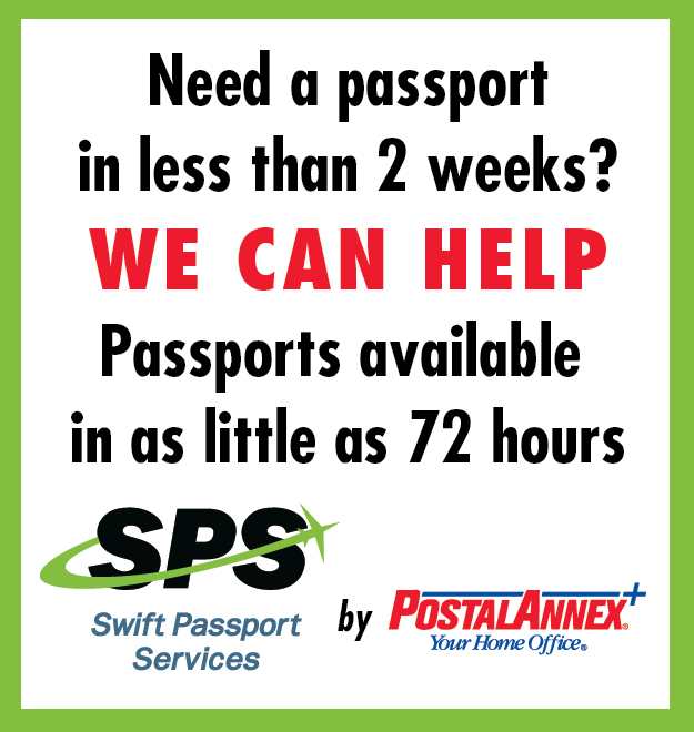 PostalAnnex Tigard Portland OR Expedited Passport Renewal Services