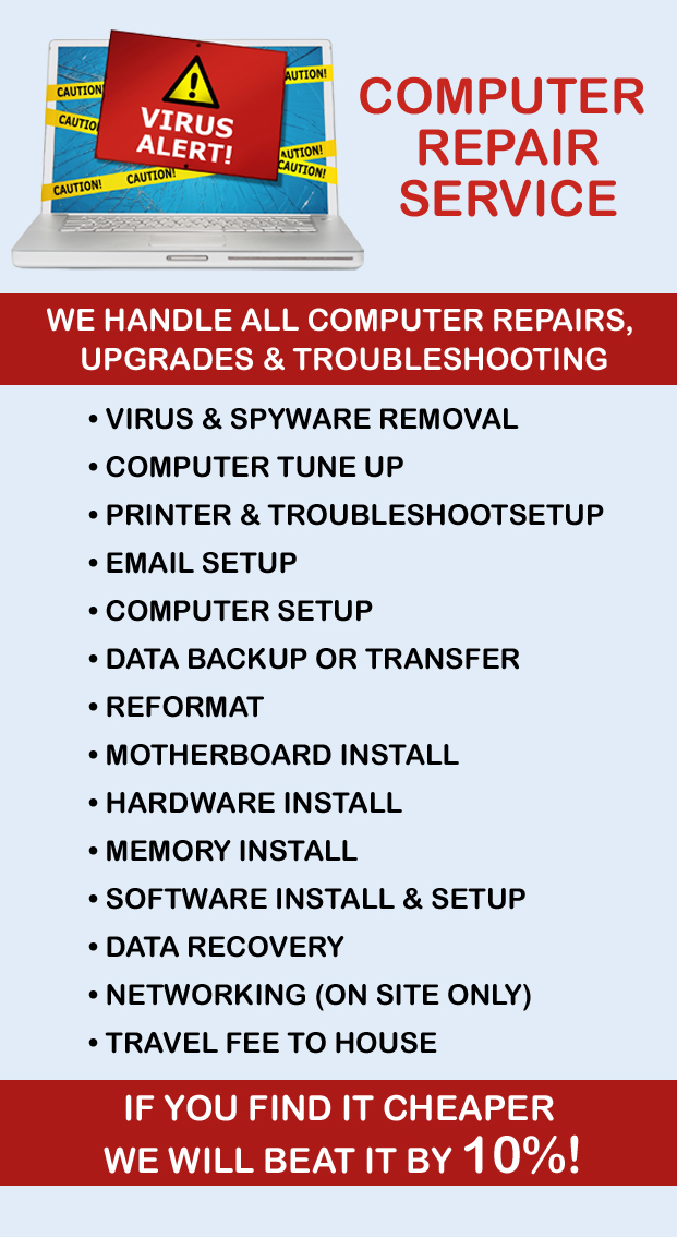 Computer Repair Services at PostalAnnex+