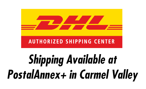 DHL Shipping / Drop-off services at PostalAnnex+ in Carmel Valley