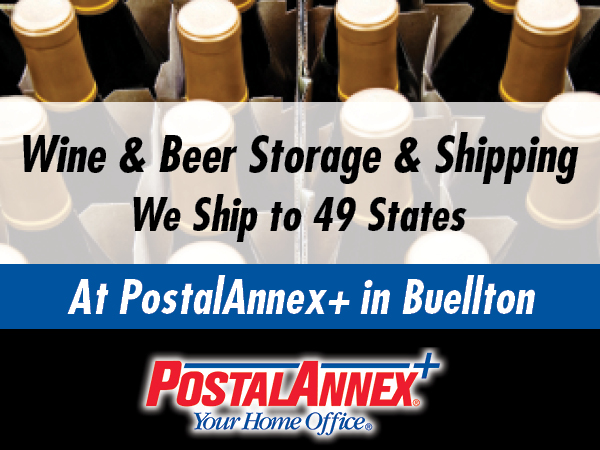 Ship your wine at the Buellton PostalAnnex+