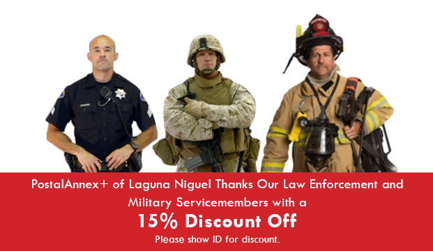 Military / Law Enforcement / Fire Dept - 15% Discount