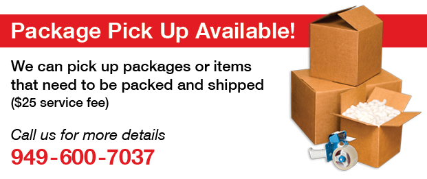 Package Pickup Available from PostalAnnex+ in Laguna Niguel