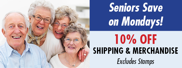Senior Discounts at PostalAnnex+ in Laguna Niguel