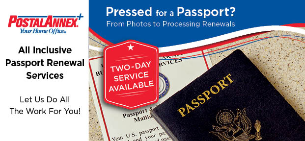 PostalAnnex Passport Renewal