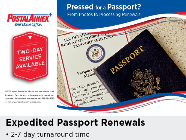 PostalAnnex+ Winchester CA Expedited Passport Renewals