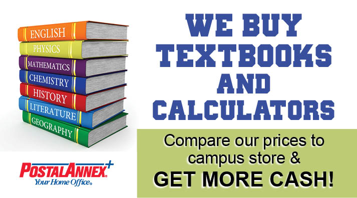 PostalAnnex+ Textbook buyback program