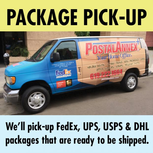 Package Pickup Service Van