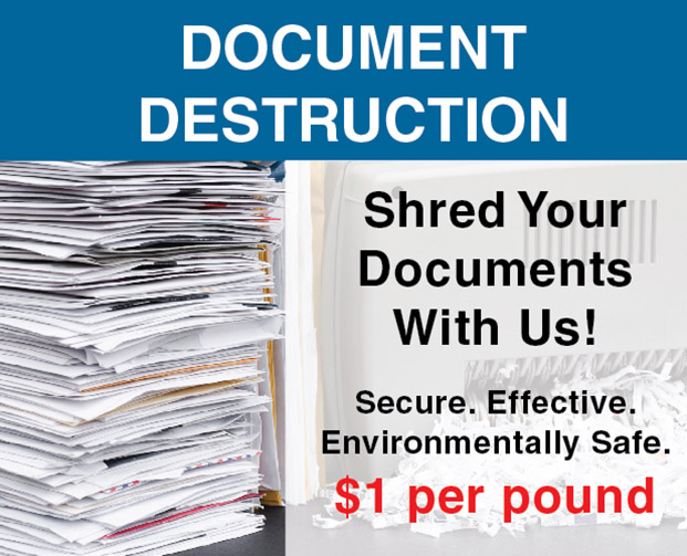 McKinney Paper Shredding Document Destruction